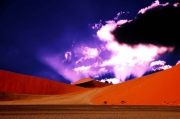 photo paysages namibie dunes sables sossuvlei : Clouds